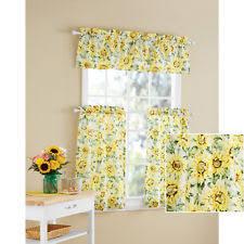 Sunflower Valance Curtains Sunflower Valance Ebay