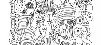 complex coloring pages for adults archives art therapy coloring