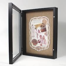 11x14 photo albums black 2 in depth shadowbox w magnetic lock front opening 11x14 by