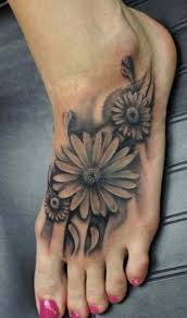 best daisy tattoos tattoos pinterest daisy flower tattoos