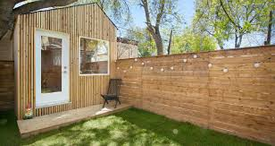 backyard architecture architect builds a tiny studio in his backyard to be closer to his