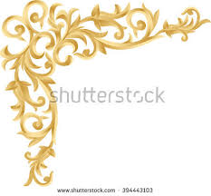 royalty free stock photos and images corner gold vintage baroque