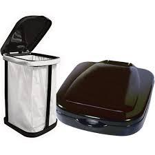garbage bag holder thetford 36773 storage baskets and