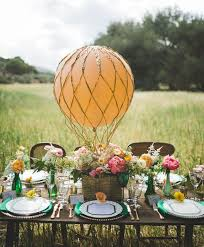 Balloons On Sticks Centerpiece by Air Balloon Inspired Decorations That Will Take You To Cloud