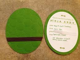 simple creations by nubia teenage mutant ninja turtle birthday card