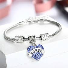 charm bracelet jewelry images Nurse charm bracelet jewelry crystals 50 off free shipping jpg