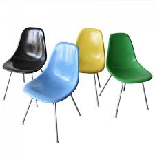 vintage dsx chairs by charles and ray eames for herman miller set