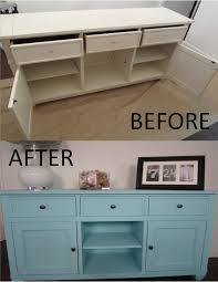 Repurposed Furniture Before And After by Diy Painted Buffet Plus Tips For Painting Furniture Falon Loves