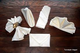 napkin folding 101 style up your thanksgiving table curbly