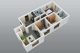 3 Bedroom Small House Design
