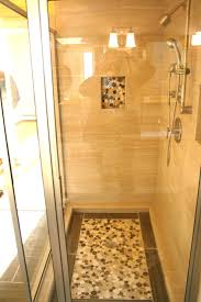 river rock bathroom ideas 17 best tile images on pinterest shower niche bathroom ideas