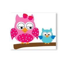 cartoon cute happy owl family diy wallpaper lovdock com