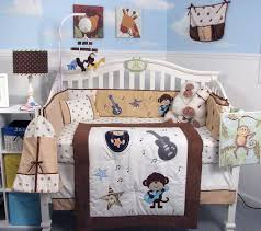 Rock N Roll Crib Bedding Soho Monkey Rock Baby Crib Nursery Bedding Set
