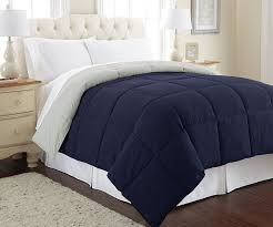 Home Classics Reversible Down Alternative Comforter Amazon Com Amrapur Overseas Goose Down Alternative Microfiber