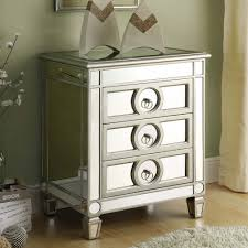 Accessorize Your End Table With Silver Vases And Votives by Awesome Mirrored Accent Table And Decor U2013 Matt And Jentry Home Design