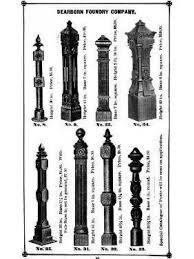 all original freestanding salvaged chicago ornamental black