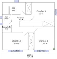 plan maison 80m2 3 chambres plan maison 80m2 avec étage