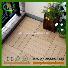 Outdoor Laminate Flooring Tiles Waterproof Outdoor Decking Tile Waterproof Outdoor Decking Tile