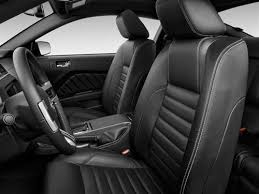 2010 mustang seat covers acme mustang leather upholstery kit black 2011 coupe