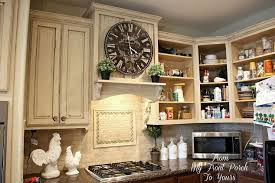 how to finish the top of kitchen cabinets creating a french country kitchen cabinet finish using chalk paint
