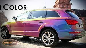 Audi Q7 Colors - liquid film audi q7 folierung mit lackfolie by starpaint