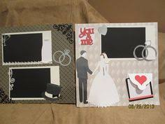 wedding scrapbook albums 12x12 happily after scrapbook page wedding paper crafting