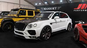 suv bentley 2016 even the bentley bentayga isn u0027t safe from sema