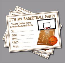 My Birthday Invitation Card Online Buy Wholesale Basketball Birthday Card From China
