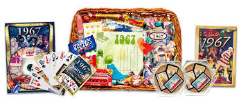 anniversary gift basket wedding anniversary gift basket with 1967 sts