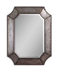 Classy Mirrors by Brigita Hammered Aluminum Mirror 24