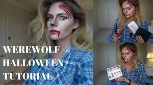 Halloween Werewolf Makeup Halloween Werewolf Makeup Tutorial Cocoa Chelsea Youtube