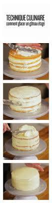 glacer cuisine technique culinaire comment glacer un gâteau étagé dessert