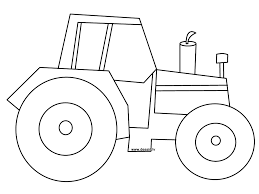 tractor pictures to print and color tractor coloring page ready