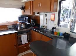 Catamaran Floor Plans by Leopard 46 Catamaran Galley Catamaran Galleys Or Yacht