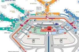 Washington Dc Airports Map by Where To Eat At O U0027hare International Airport Ord Eater Chicago