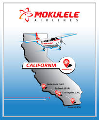 Los Angeles Airport Terminal Map by Route Map Mokulele Airlines Where We Fly