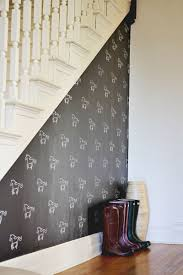diy custom stenciled wall u2013 a beautiful mess