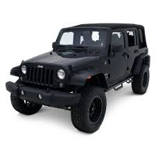 flat gray jeep lund jeep wrangler 2007 2017 elite series fx jeep flat style