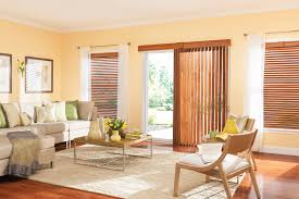 Wood Blinds For Patio Doors Custom Wood Blinds Bali Blinds And Shades