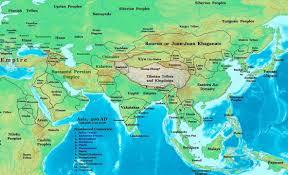 Himalayan Mountains Map Where Is The Wall Of Yajuj Wa Majuj Gog U0026 Magog Ghayb Com