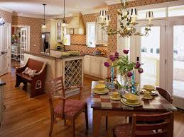 dining room kitchen tables white countertop oak wood cabinets