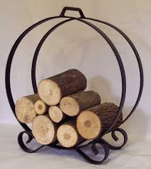 fireplace log holders cap rack