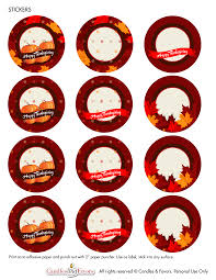 free thanksgiving printables from candles and favors catch my