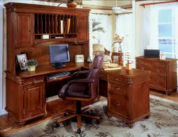 Computer Desk And Hutch Furniture Surprising Shaped Desk With Hutch Desk Set Computer