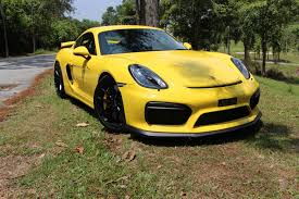 yellow volkswagen karak highway mid week feature a dying breed why the porsche cayman gt4 6