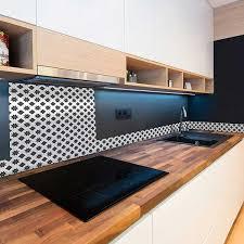 vente cuisine en ligne vente privee crédence motif carreau de ciment alu compos 24899