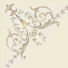 corner stencils for stenciled walls painted furniture u0026 ceilings