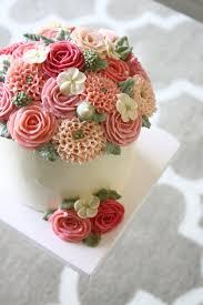 Flower Cakes Mother U0027s Day Buttercream Flower Cake U2014 Eat Cake Be Merry Custom