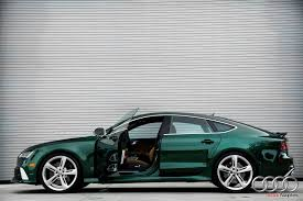 audi a7 for sale in florida verdant green audi rs7 for sale in florida