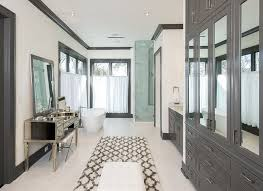 Benjamin Moore Gray Bathroom - hamptons style home with sophisticated interiors home bunch
